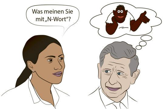 N-Wort - © Illustration: Alexander Maier