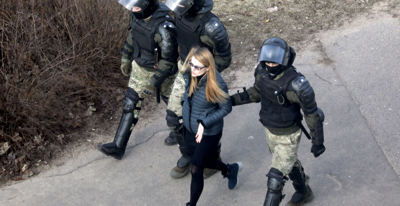 Belarus Proteste - © Foto: APA/ AFP / Stringer