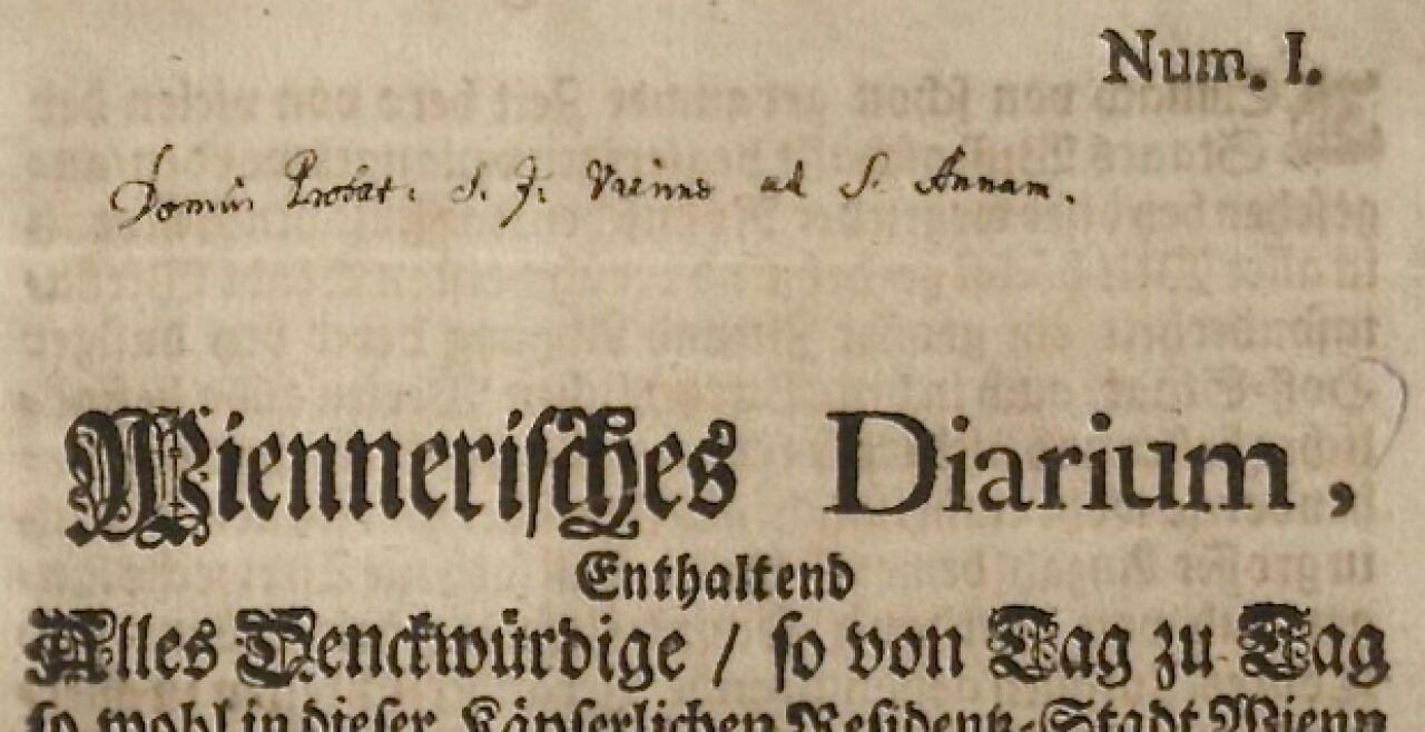wr. zeitung 1703 - © wikimedia