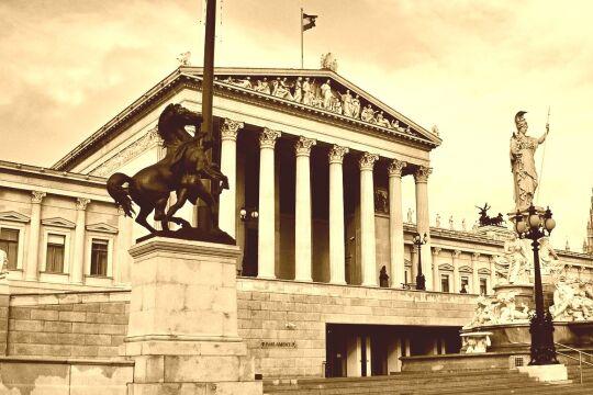 Parlament Österreich Alleinregierung ÖVP