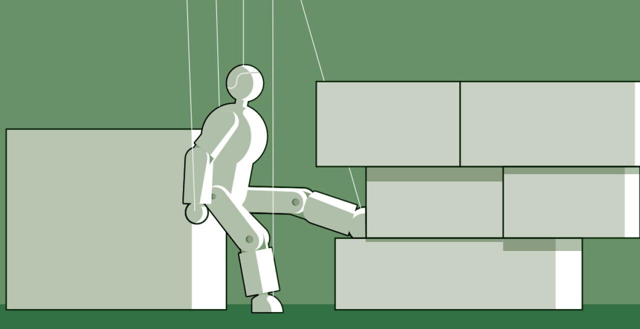 Das Spiel mit der Arbeit - © Foto: Rainer Messerklinger