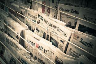 Medien Medienlandschaft Zeitung Pressefreiheit