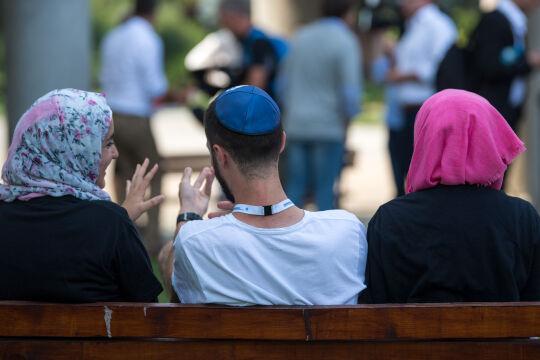 juden und muslime - © picturedesk.com / dpa / Monika Skolimowska