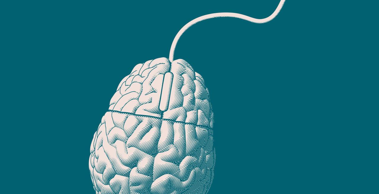 Maus Computer Gehirn - © Illustration: Florian ZWickl (Unter Verwendung von: iStock, Jolygon)