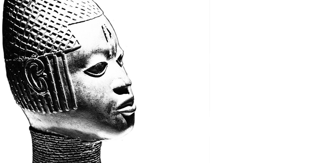 Afrikaabteilung in Ethnological Museum - © Foto W:kipiededai/Bnimi Garten (cc by-sa 3.0); Bidlbearbeitung:Rainer Messerklinger