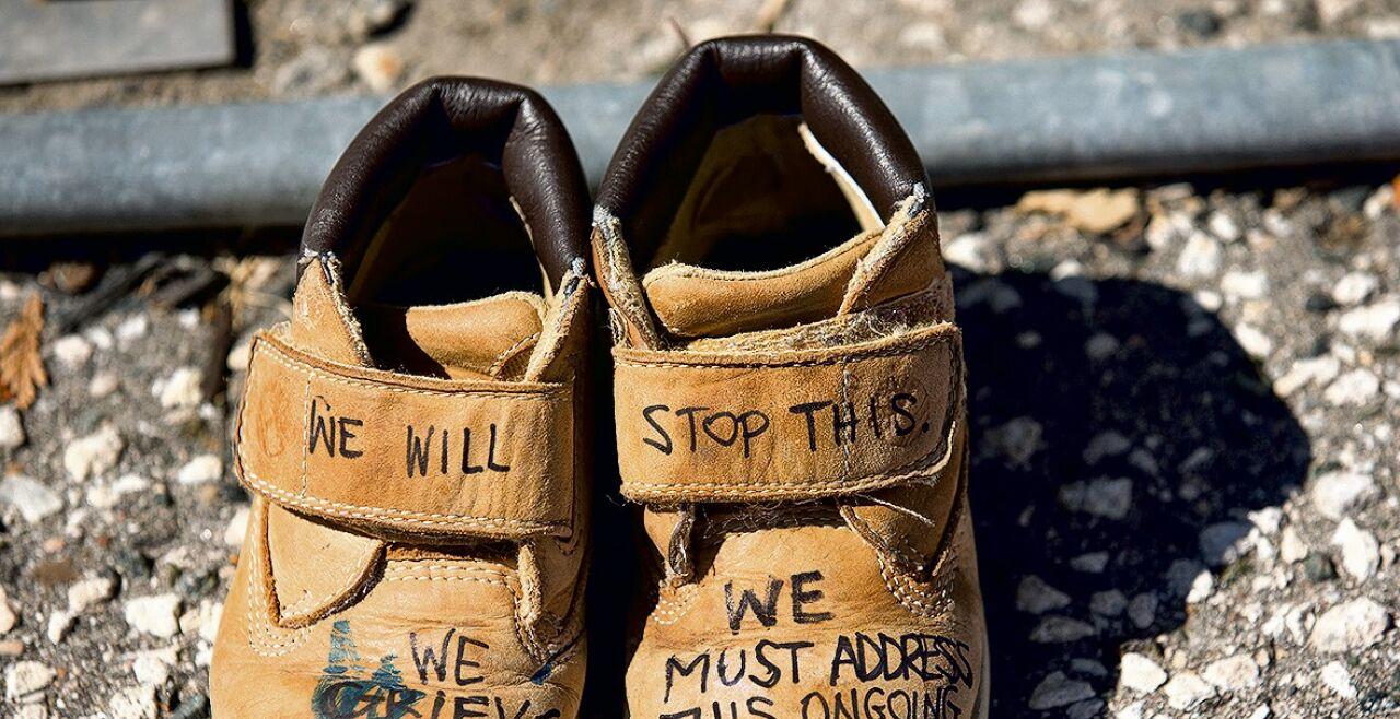 Kanada Kinderleichen - © Foto: Getty Images /Toronto Star / Rick Madonik