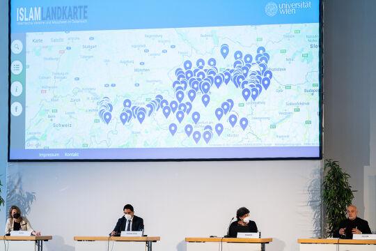 Islam Landkarte - © Foto: APA / Georg Hochmuth