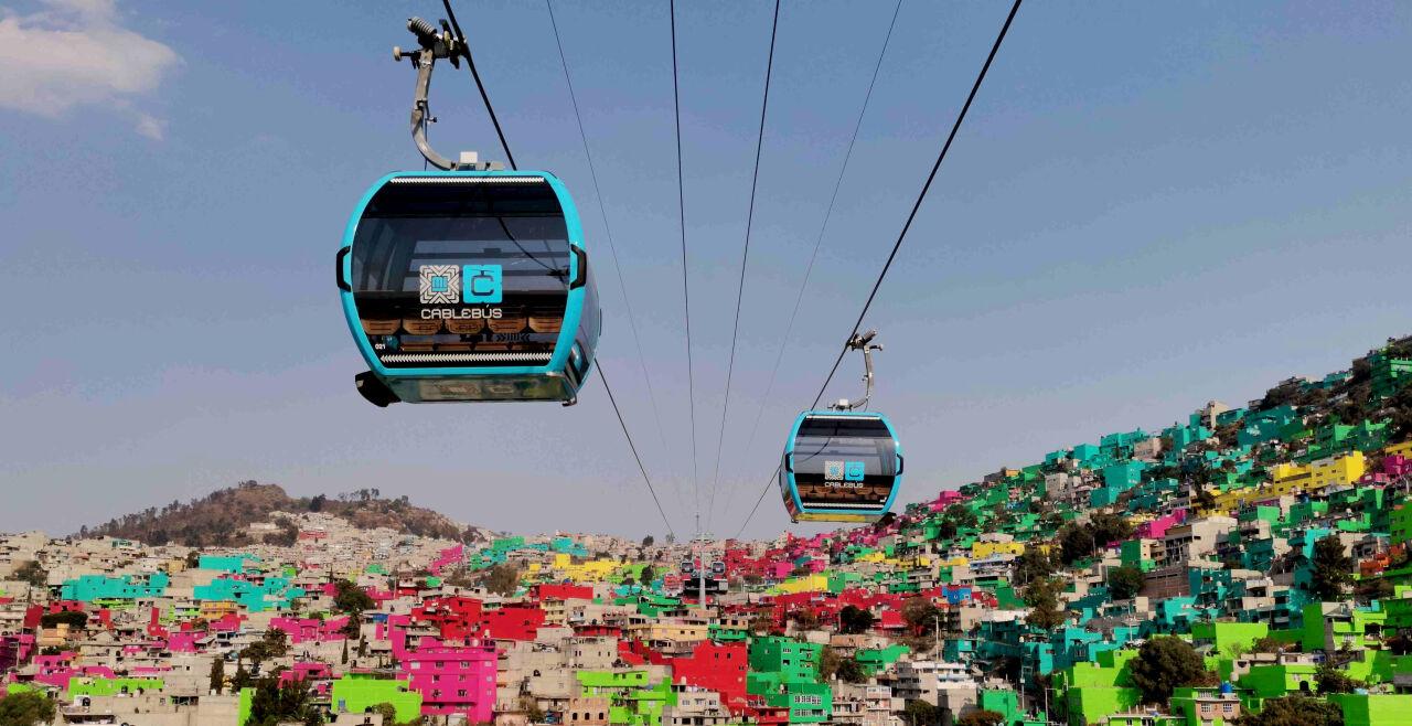 Mexiko Seilbahn - © Foto: Doppelmayr
