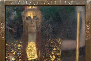 Pallas Athene von Gustav Klimt - © Foto:  © Wien Museum