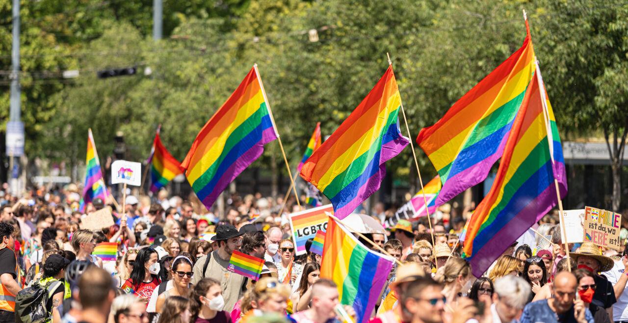 Regenbogenparade - © Foto: APA / EXPA / Florian Schroetter