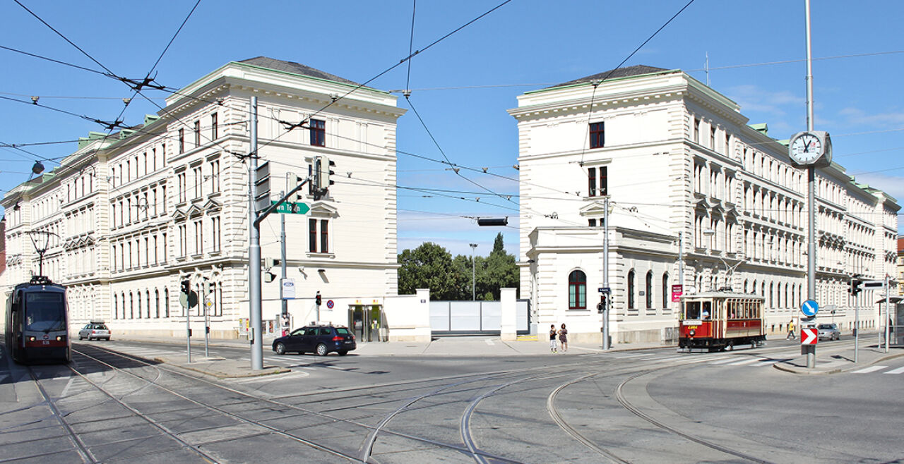 Rennweg Kaserne - Rennweg BVT - © Wikipedia/Tokfo (Bildbearbeitung: Rainer Messerklinger)