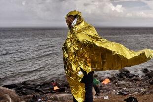Flucht Küste - © Foto: AFP