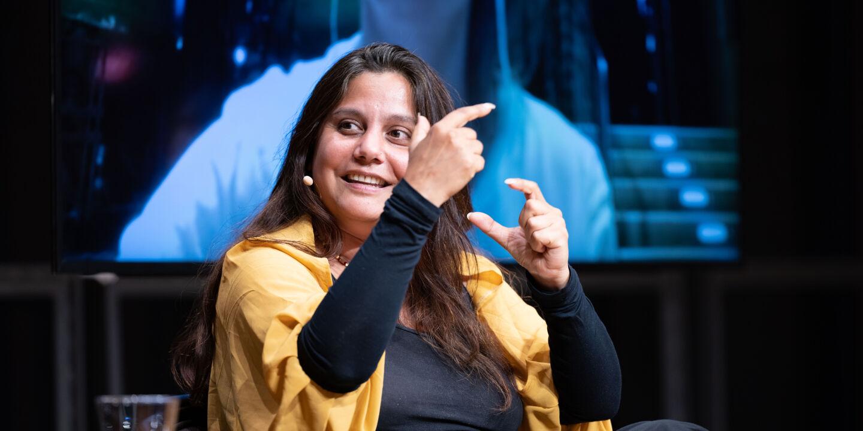 Mithu Sanyal - © Foto: Franz Neumayr / picturedesk.com