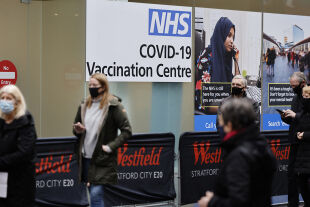 Corona Impfung Großbritannien - © Foto: APA / AFP / Tolga Akmen