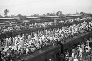 Flucht Indien - © Foto: Getty Images / Bettmann