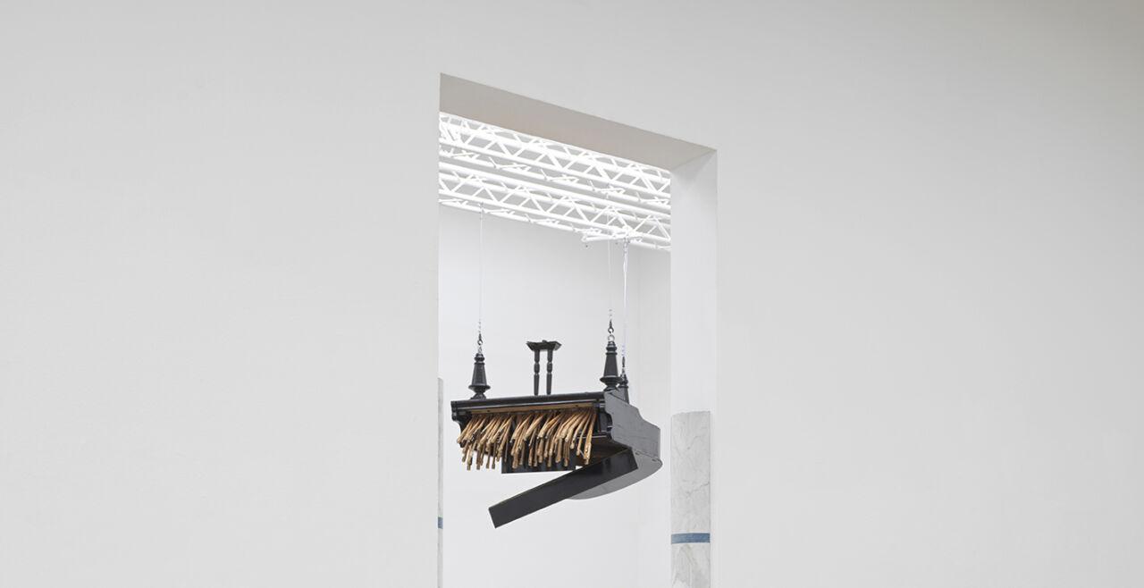 Horn - © Foto: Gregor Titze / Bank Austria Kunstforum Wien; © Rebecca Horn, Bildrecht Wien, 202