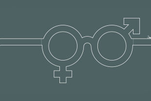 Genderbrille - © Illustration: Rainer MEsserklinger