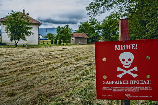 Landminen - © Foto: Landmine Survivors Initiatives