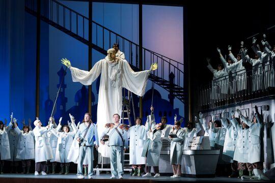 """Elfenkönig - Carl Maria von Webers """"Oberon"""" am Theater an der Wien, inszeniert von Puppenmeister Nikolaus Habjan. - © Werner Kmetitsch"""