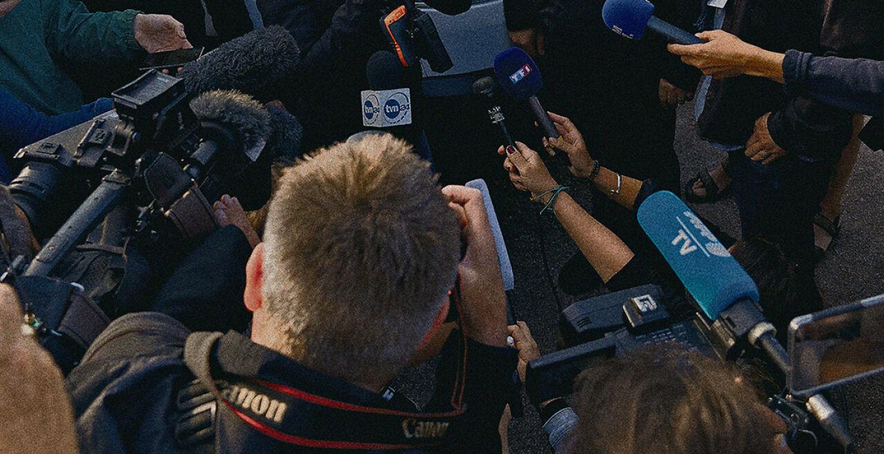 Journalisten - © Foto: Getty Images / Sylvain Lefevre