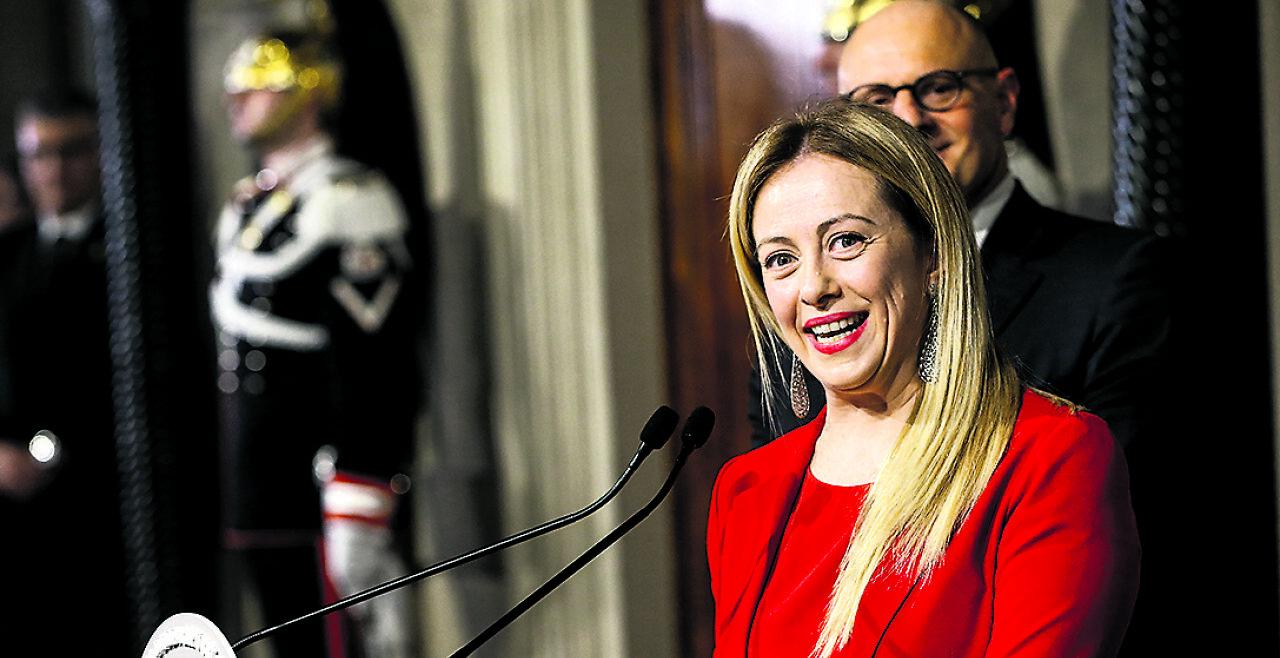 Giorgia Meloni - © Foto: APA / AFP / Fabio Frustaci