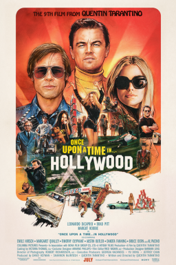 once upon a time in hollywood plakat - © Sony
