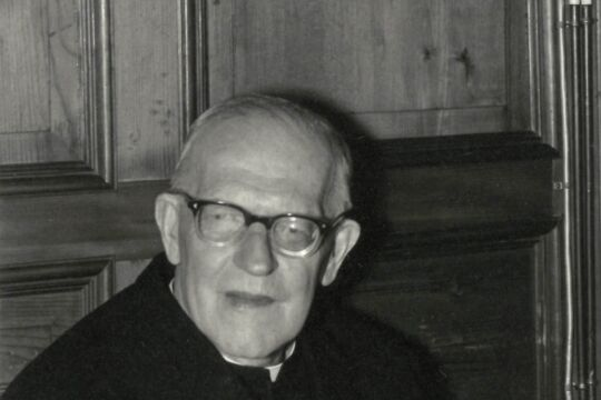 Franz Michel Willam - Franz Michel Willam: Der 1894 in Schoppernau/Bregenzerwald Geborene wirkte von 1934 bis 1981 als Kaplan im nahen Andelsbuch. - © Privat
