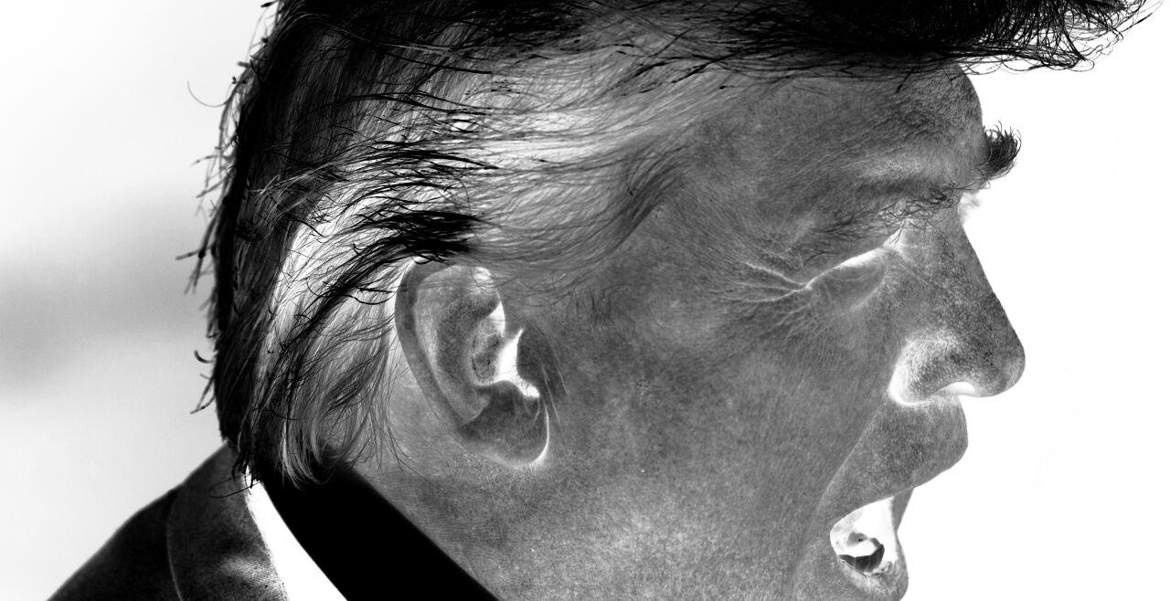 Trump - © Foto: APA / AFP/ Saul Loeb (Bildbearbeitung: Rainer Messerklinger)