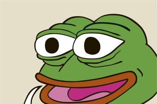 """Pepe der Frosch - Der Cartoonfrosch Pepe ist eine rechte Ikone. Das Meme fungiert als modernes Aushängeschild für den Kampf der scheinbaren Gegensätze Sicherheit und Freiheit. Wie viel Gequake von Pepe und seinen Anhängern muss ausgehalten werden? - © Illustration: """"Pepe The Frog"""" by Matt Furie  (Screenshot: Imgur.com)"""